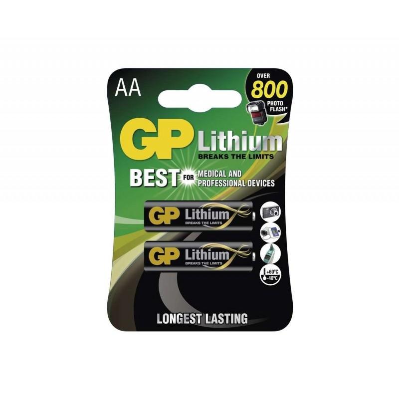 Batérie GP Lithium AA FR6, 1.5V - 4ks